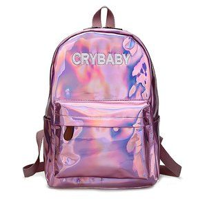 Last One ✨ Pink Crybaby Holographic Backpack